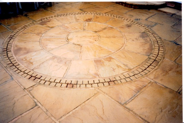 Paving Circle - Richard Carter